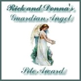 Rick and Donna's Guardian Angel Award